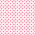 Rose clover pattern. Seamless vector background
