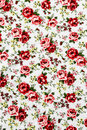 Rose fabric rose fabric background fragment of colorful retro tapestry text Stock Photography