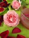 Rose flower jelly Royalty Free Stock Photography