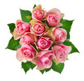 Rose Flowers Bouquet Royalty Free Stock Photography