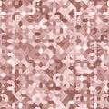 Rose Gold Millennial Pink Sequins Texture Seamless Pattern