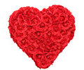 Rose Heart Shape Floral Royalty Free Stock Photo