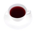 Rose hip hibiscus herbal tea Royalty Free Stock Photo