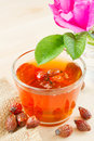 Rose hips tea Stock Photography