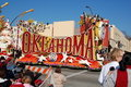 Rose Parade Pasadena oklahoma float Stock Photo
