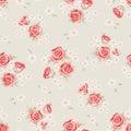 Rose pattern 2 Royalty Free Stock Photo