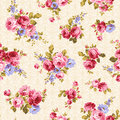 Rose pattern i made a beautiful a painting this painting continues repeatedly i worked in s Stock Photos