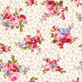 Rose pattern i made a beautiful a painting this painting continues repeatedly i worked in s Stock Photo