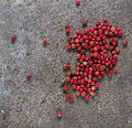 Rose Pepper In Abstract Backgr...