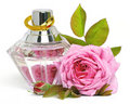 Photo : Rose and perfume   jewelry