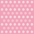 Rose pink pattern background pictogram groot voor om het even welk gebruik vector eps Royalty-vrije Stock Afbeeldingen