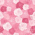Rose seamless pattern pink red white shabby colors floral endless texture can be used for printing onto fabric and paper or scrap Stock Image