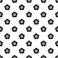 Rose of Sharon pattern, simple style