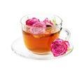 Rose tea Royalty Free Stock Photo
