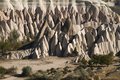 Rose valley in cappadocia turkey amazing geological features Royalty Free Stock Image