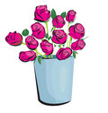 Rose vector illustration of cutie Royalty Free Stock Images
