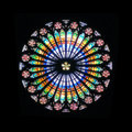 Rose window Royalty Free Stock Photo