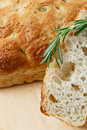 Rosemary Focaccia Royalty Free Stock Photography