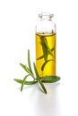 Rosemary infused olive oil Royalty Free Stock Photo