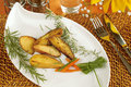 Rosemary potatoes Stock Images