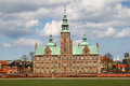 Rosenborg castle as one of most beautiful buildings in copenhagen denmark Stock Photos