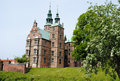 Rosenborg Castle in Copenhagen Royalty Free Stock Photo