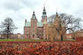 Rosenborg castle in Copenhagen Royalty Free Stock Images