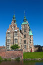 Rosenborg castle copenhagen denmark view of in Royalty Free Stock Image