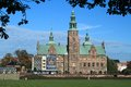 Rosenborg castle in copenhagen slot is a renaissance located denmark of special interest to tourists is an Stock Photography