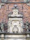 Rosenborg Castle detail, Copenhagen Royalty Free Stock Photo