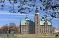Rosenborg Castle in Kings Garden of Copenhagen Royalty Free Stock Photo