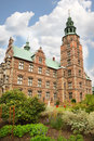 Rosenborg Castle situated at centre of Copenhagen Stock Photo