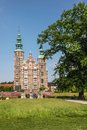Rosenborg palace in copenhagen castle denmark built from Royalty Free Stock Image