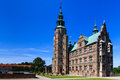 Rosenborg slot Royalty Free Stock Photo