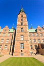 Rosenborg Slot Castle Royalty Free Stock Photos