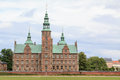 Rosenborg slot major landmark in copenhagen Stock Photography