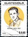 Rosendo Santa Cruz, from the series of Guatemalan Writers, Poets and Historians