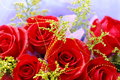 Roses a bunch of beautiful Royalty Free Stock Image