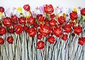 Roses Canvas Painting