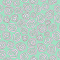 Roses seamless pattern Stock Image