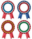 Rosettes  tricolor Royalty Free Stock Photography