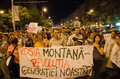 Rosia Montana Protest in Bucharest,Romania - 08 September(2)