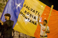 Rosia Montana Protest in Bucharest,Romania - 08 September(5)