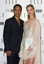 Rosie Huntington-Whiteley, Rosie Huntington Whiteley, Rosie Huntington, Cuba Gooding, JR, Cuba Gooding Jr., Cuba Gooding JR Royalty Free Stock Images