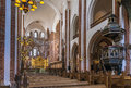 Roskilde Cathedral, Denmark Royalty Free Stock Photo
