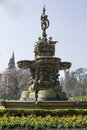 Ross Fountain, Edinburgh, Scotland, Royalty Free Stock Photo