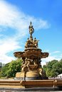 Ross fountain in Princess Street Gardens in Edinburgh, Scotland Royalty Free Stock Photo