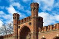 Rossgarten gate fort of koenigsberg kaliningrad before koenigsberg russia fortified strengthening Royalty Free Stock Photos