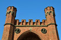 Rossgarten gate of koenigsberg kaliningrad fortified strengthening until russia Royalty Free Stock Photography