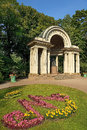 Rossi Pavilion in Pavlovsk Park, Saint Petersburg, Russia Royalty Free Stock Photo